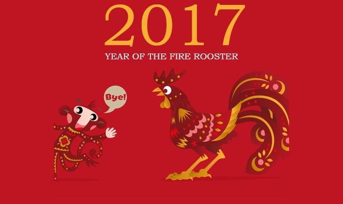 китайский гороскоп 2017, восточный гороскоп 2017, год огненного петуха