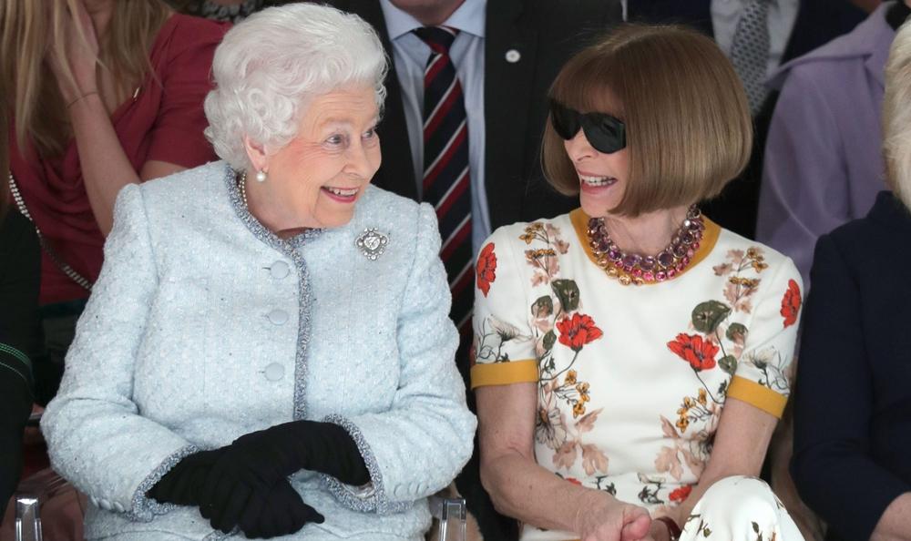 Королева Англии – тайный гость Лондонской недели моды
