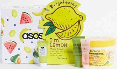 Бьюти-бокс ASOS Fruity Beauty Box – наполнение